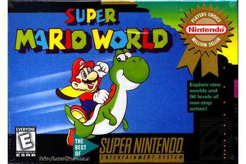 Games to Play Before You Die: Super Mario World - Non ...
