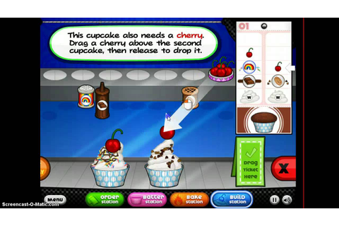 cupcakeria cool math games - YouTube