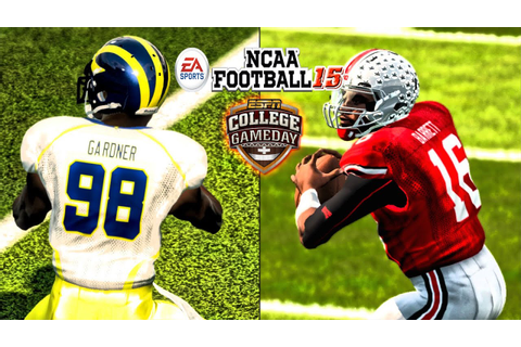 NCAA Football 15 - (XB360) - 60fps - | Michigan at Ohio ...