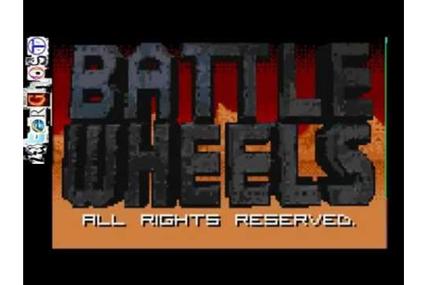 BATTLE WHEELS - Atari Lynx Game Review - YouTube