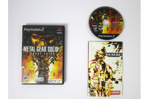 Metal Gear Solid 3 Snake Eater game for Playstation 2 ...