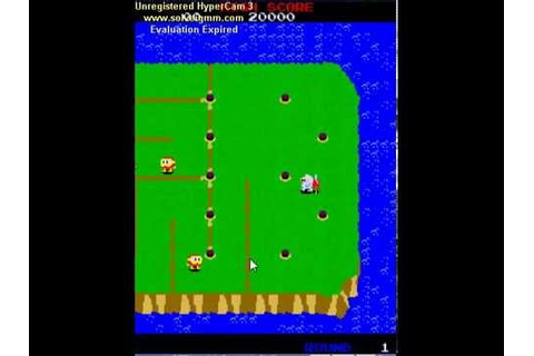 Dig Dug 2: Game Over - YouTube
