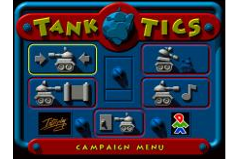 Tanktics Download (1999 Strategy Game)