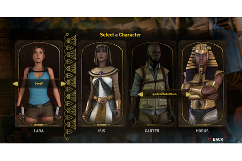 Meet the Main Characters of Lara Croft & the Temple of ...