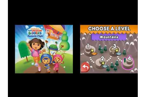 Team Umizoomi and Doras Fantastic Flight Episode 7 - YouTube