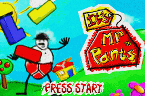 Play It's Mr. Pants Nintendo Game Boy Advance online ...