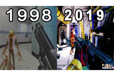 Evolution Of Half Life Games 1998 - 2019 - YouTube