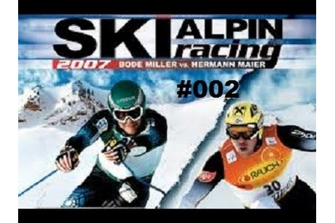 Let's Play Old Game Alpine SKI Racing 2007 #002 Juniorliga ...