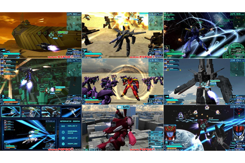 Best PSP games download: Macross Ace Frontier