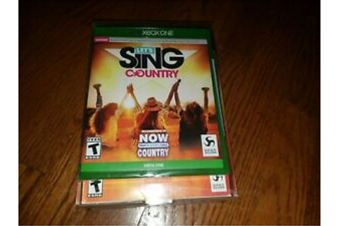 Let's Sing Country - 2 Microphone Bundle Xbox One [Brand ...