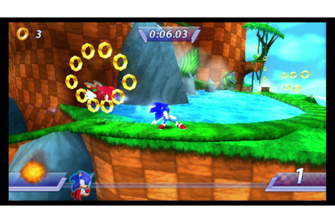 Sonic Rivals (PSP) PlayStation TV Gameplay - YouTube
