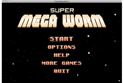 Download Super Mega Worm Mac 2.0.0