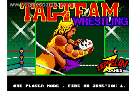 American Tag Team Wrestling - Commodore Amiga - Games Database