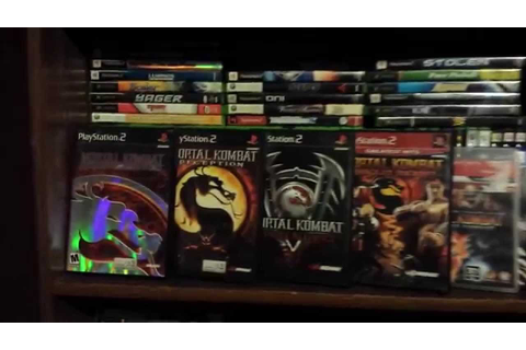 Video Game Collection - Mortal Kombat Collections Version ...
