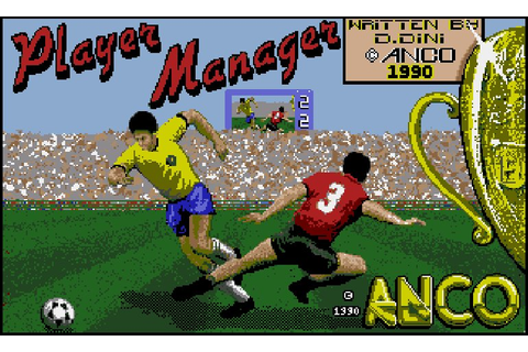 Player Manager football management games Amiga - All Amiga ...