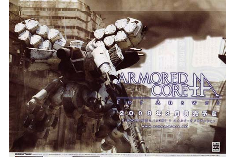 New Game – Armored Core: for Answer | Raven Republic