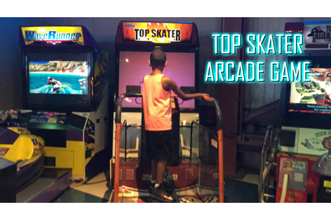 Sega Top Skater Arcade Skateboard Video Game - YouTube