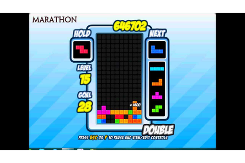 The fastest Marathon game on Tetris friends maybe - YouTube