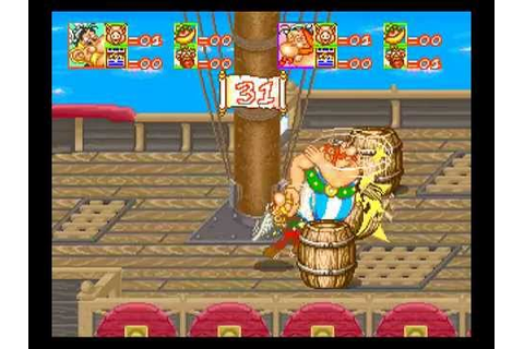 Asterix: The Arcade Game (Konami) (1992) Longplay - YouTube