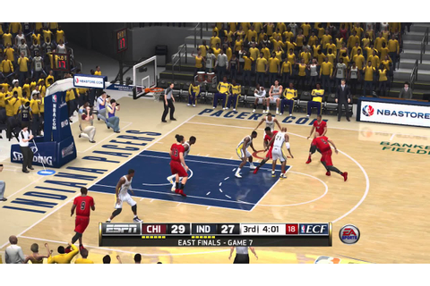 NBA LIVE 14 full game part 3 - YouTube