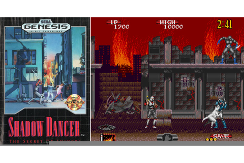 Play Shadow Dancer: The Secret of Shinobi on Genesis