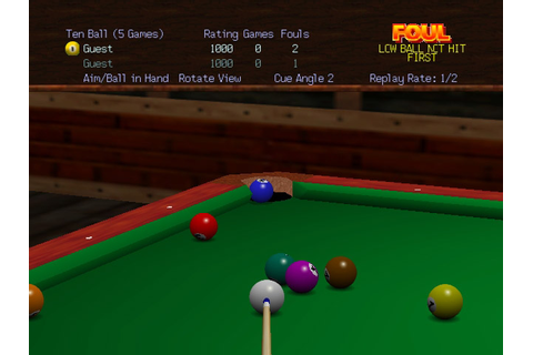 Virtual Pool 64 (USA) ROM