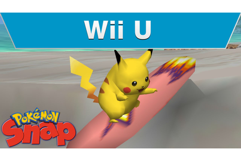 Pokemon Snap on Wii U! - YouTube