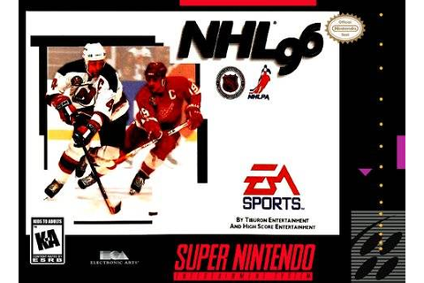 NHL 96 | Nintendo | FANDOM powered by Wikia