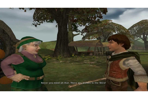 Lord of the Rings: The Fellowship of the Ring (PC) Part 1 ...