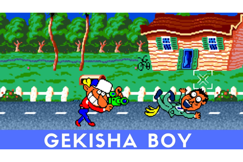 PC Engine Longplay #20: Gekisha Boy - YouTube