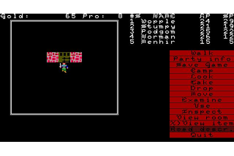 Demons Winter Download (1988 Role playing Game)