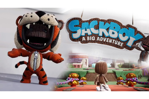 NEW LITTLEBIGPLANET GAME ANNOUNCED! - SACKBOY: A BIG ...