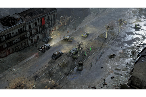 WW2 RTS Sudden Strike 4 Announced for PC & PlayStation 4