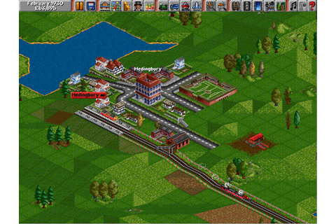 Play Transport Tycoon online - PlayDOSGames.com