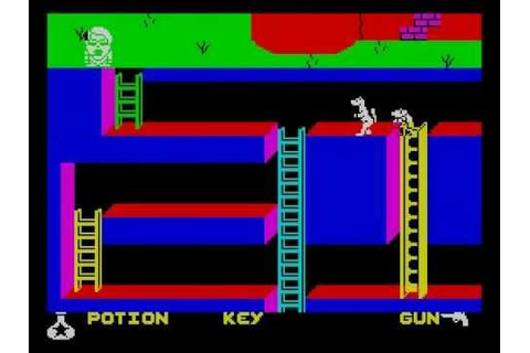 Monty is Innocent Walkthrough, ZX Spectrum - YouTube