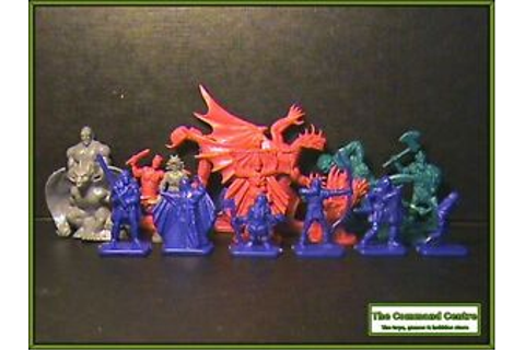 Dragon Strike Fantasy Game Figures like HeroQuest ...