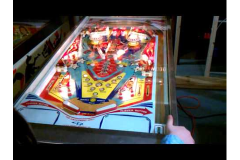 Hollywood pinball backglass SOLD - YouTube