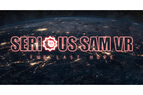 Serious Sam VR Coming to Steam Early Access