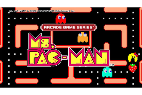 ARCADE GAME SERIES: Ms. PAC-MAN Game | PS4 - PlayStation