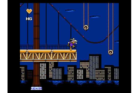 Darkwing Duck Nes Gameplay Level 1 [Legend Game] - YouTube