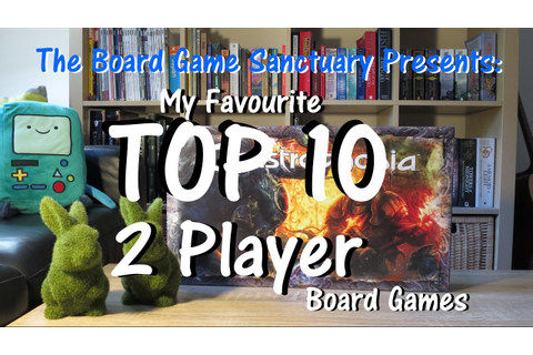 Top 10 Favourite Two Player Board Games - YouTube