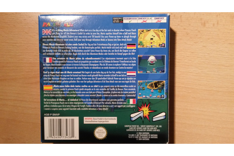 Super Mario Ball (Game Boy Advance) :: Kleiderkorb.de
