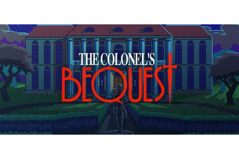 The Colonel's Bequest (1990) Amiga box cover art - MobyGames