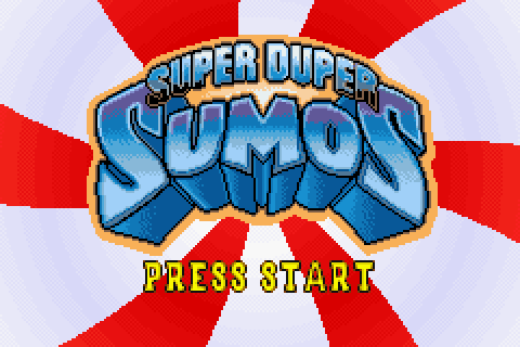 Super Duper Sumos (2003) by Handheld Games GBA game