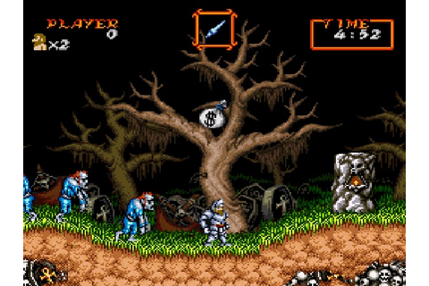 Super Ghouls 'n Ghosts – Haunted Graveyard | Games I Made ...