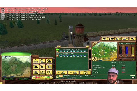 Railroad Tycoon 3: Russia! - 2/2 - YouTube