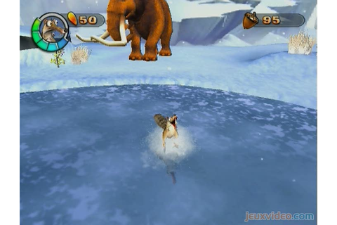 Gameplay L'Age de Glace 2 : Scrat en action - jeuxvideo.com