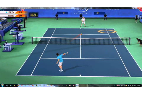 [WII] TOP SPIN 4 [NTSC] 2K SPORTS ON DOLHIN EMULATOR 1080P ...