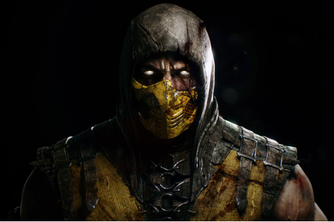 video Games, Face, Mortal Kombat X, Scorpion (character ...