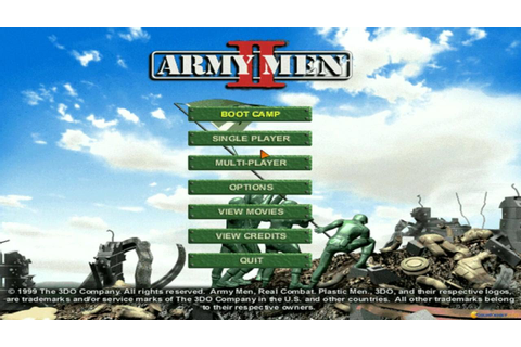 Army Men 2 gameplay (PC Game, 1999) - YouTube